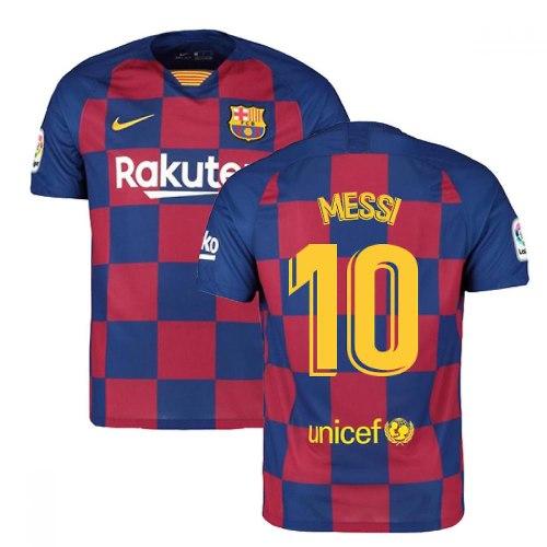 חולצת משחק ברצלונה בית 19/20 - MESSI 10 (מידה L) גרסת שחקן