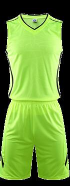 תלבושת כדורסל בעיצוב אישי Green דגם - #6001