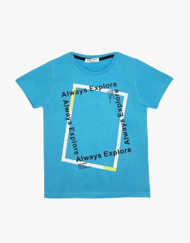 חולצה טריקו בנים ALWAYS EXPLORE