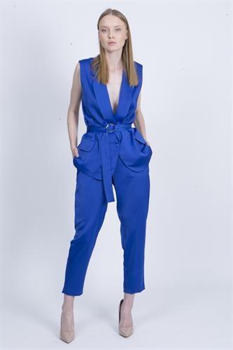 חליפת ברוק כחולה