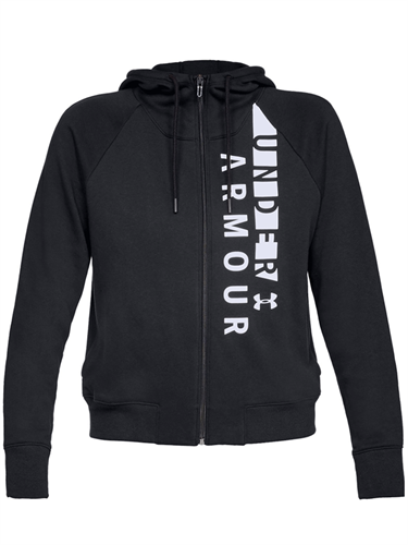 ג'קט אנדר ארמור נשים 1321186-001 Under Armour Rival Fleece Full Zip Hoodie