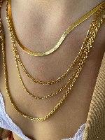 שרשרת אליס מיני זהב