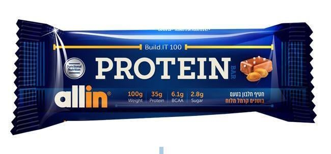 6 יח-אול אין 100 | All-in Build.it 100 Protein Bar