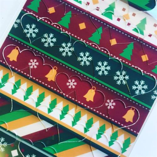 Merry Christmas mix Transfer sheet