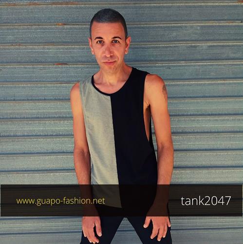 גופייה שחורה לגבר mens bodybuilding tank tops