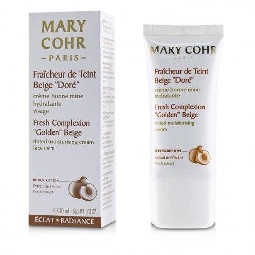 """מארי קור- לחות עם גוון ו""""בז' זהוב"""" Mary Cohr- Fresh Complexion """"Golden"""" Beige Tinted Moisteriser"""