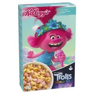 Kellogg's Trolls cereal - דגני בוקר של הטרולים
