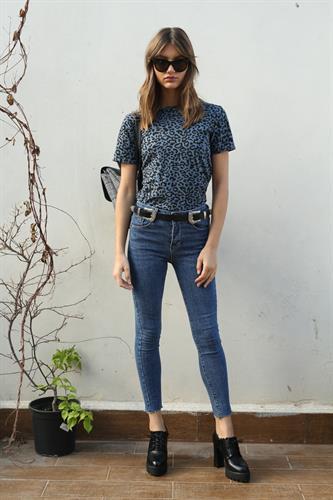 ג'ינס סקיני טום בייסיק גזור