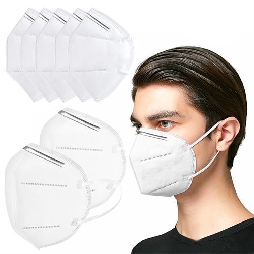 20 מסכות פנים נשמיות הגנה מפני וירוסים ואבק בתקן N95/KN95 בעלת 5 שכבות עם אישורי CE FDA משלוח מהיר!