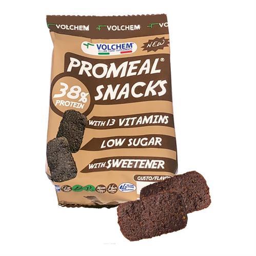 חטיף חלבון PROMEAL SNACKS תוצרת חברת VOLCHEM האיטלקית (6 חטיפי חלבון בשקית) טבעוני