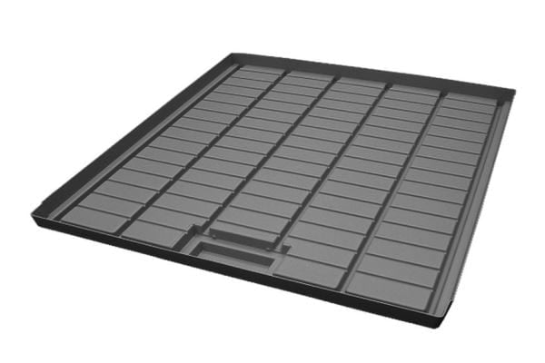 """שולחן מגש ניקוז 110×100 ס""""מ"""