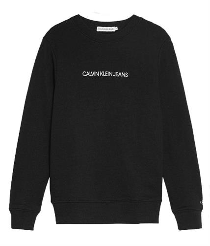 סוויטשירט לוגו CK שחור