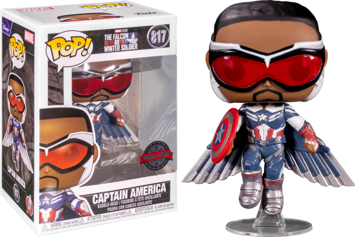בובת פופ! הפאלקון וחייל החורף - פאלקון קפטן אמריקה עף (אקסקלוסיבי)