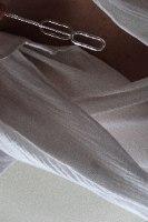 שרשרת עניבה גדולה כסף