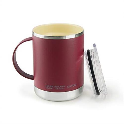 אסובו כוס טרמית עם ידית דגם אולטימט
