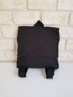 תיק גב מבד שירה שחור