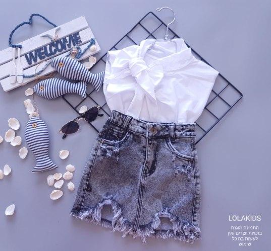 חצאית גינס דגם 2003