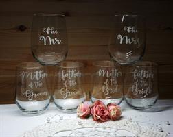 6 כוסות יין ללא רגל|מתנות להוריי המתחתנים