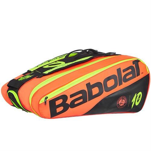 תיק טניס Babolat Pure La Decima French Open Racquet Holder x12