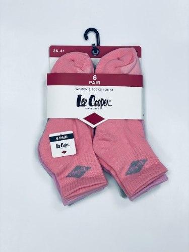 שישית גרבי נשים חצי מגבת צבעוני