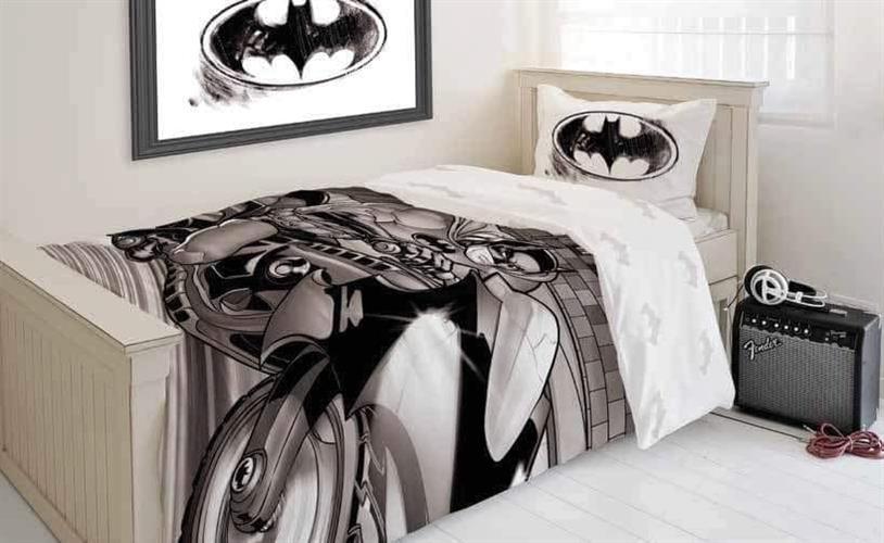 סט מלא מיטה וחצי דגם באטמן