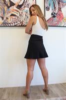 חצאית מיני בלאק שחורה