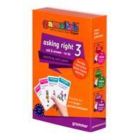 משחק זוגות gamelish דקדוק - asking right 3 | הווה to be