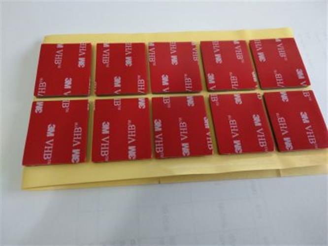 סט 10 מדבקות דו צדדיות  3M 4991VHB במבצע- ג'יפר