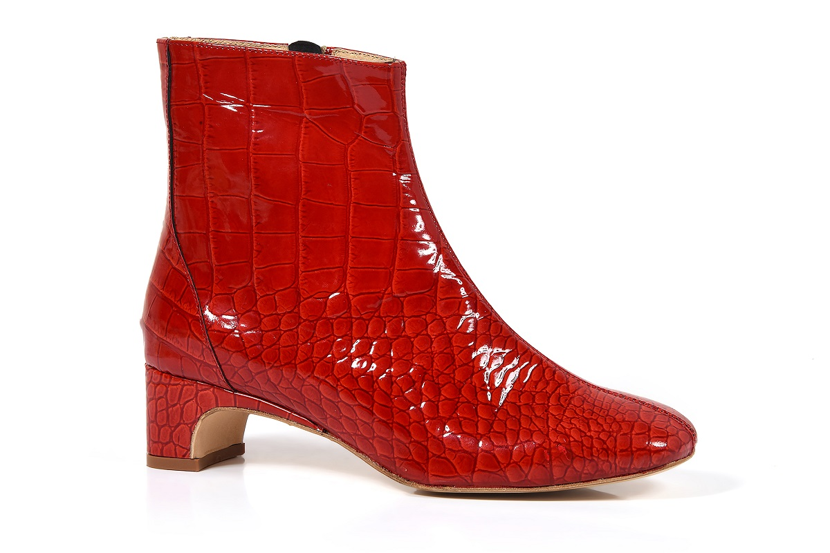 River red croco print