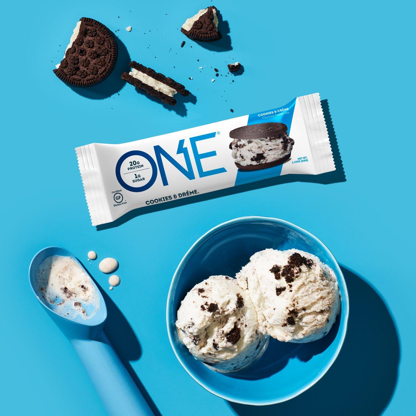 מבצעי 1+1|חטיף חלבון או יה וואן - OH YEAH! ONE BAR |קרם עוגיות