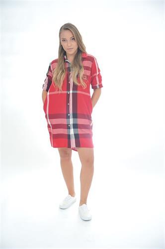 שמלת משבצות one size