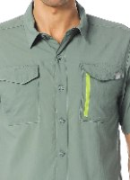 חולצה  מכופתרת קצרה נוגדת קרינת שמש של The North Face