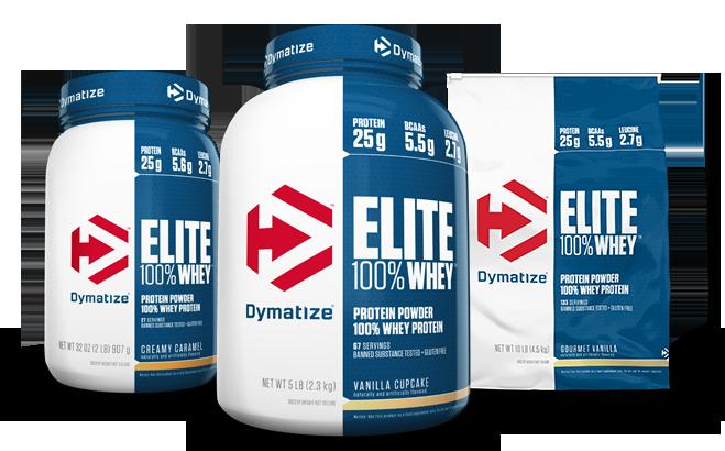 Dymatize Elite Whey | דיימטייז עלית 100% מי גבינה