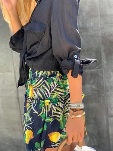 חצאית lemon שחורה