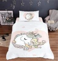 סט מלא יחיד או מיטה וחצי דגם חד קרן