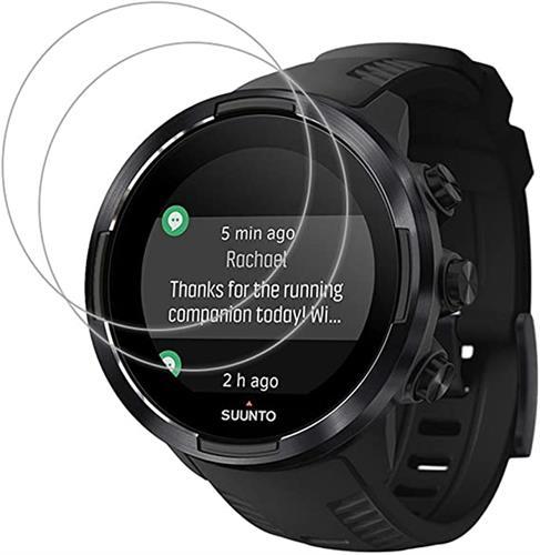 מגן זכוכית לשעון Suunto 9  - סט 3 יחידות