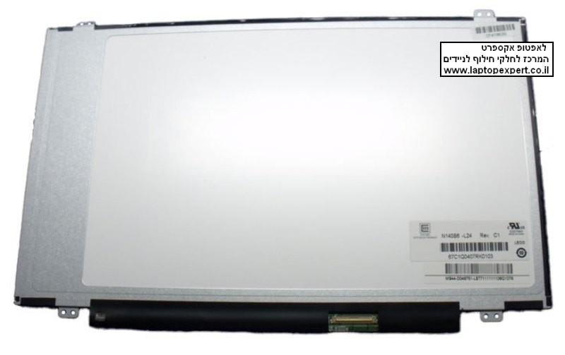 החלפת מסך למחשב נייד Chi Mei N140BGE-LB2 Rev.A2  14.0