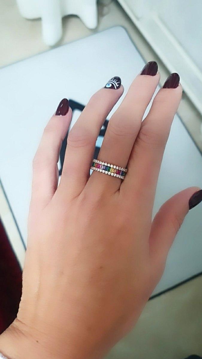 טבעת לאב רוגזולד צבעונית