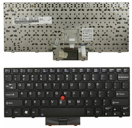 מקלדת להחלפה במחשב נייד לנובו IBM Lenovo Thinkpad X100 X100E X120E Laptop US Keyboard 60Y9912 60Y9877