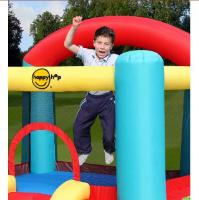 9004N - מתקן קפיצה קלאסי עם מגלשה הפי הופ - Slide Bouncer Happy Hop - קפיץ קפוץ