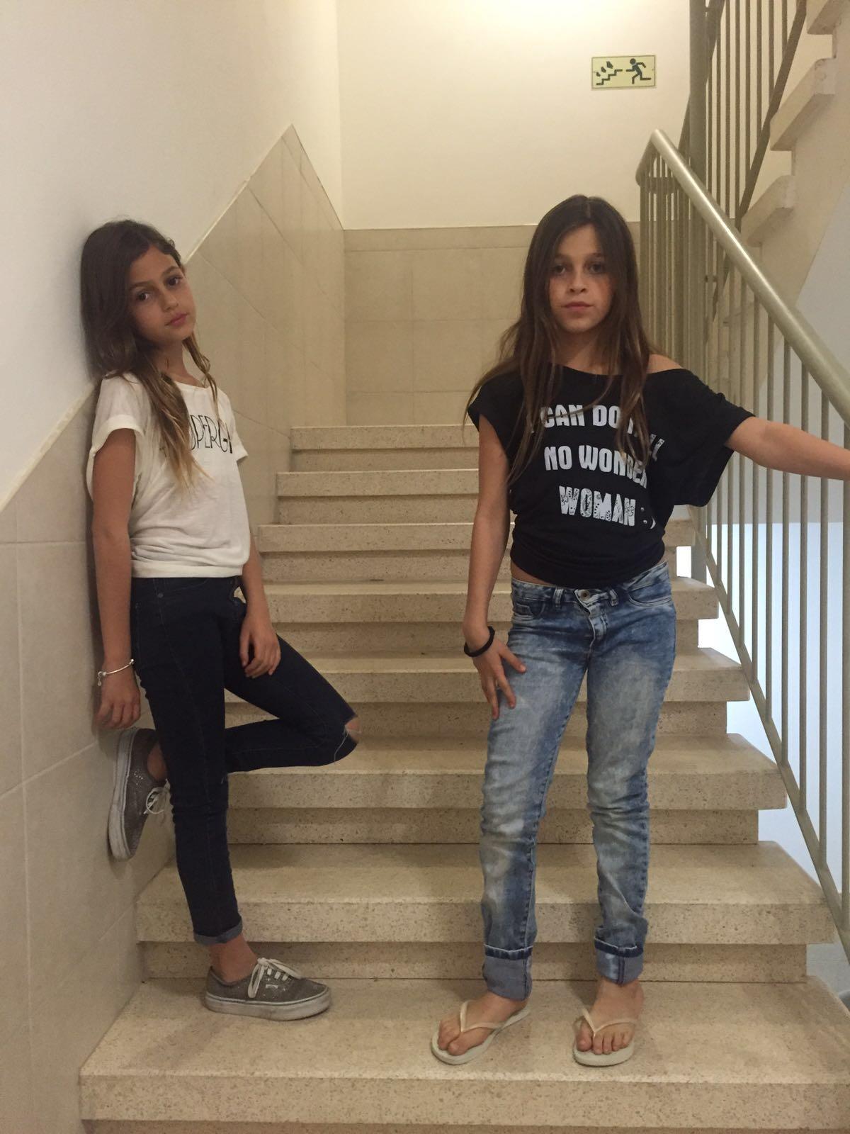 חולצות העצמה - מתחילה בכל גיל ילדות:)