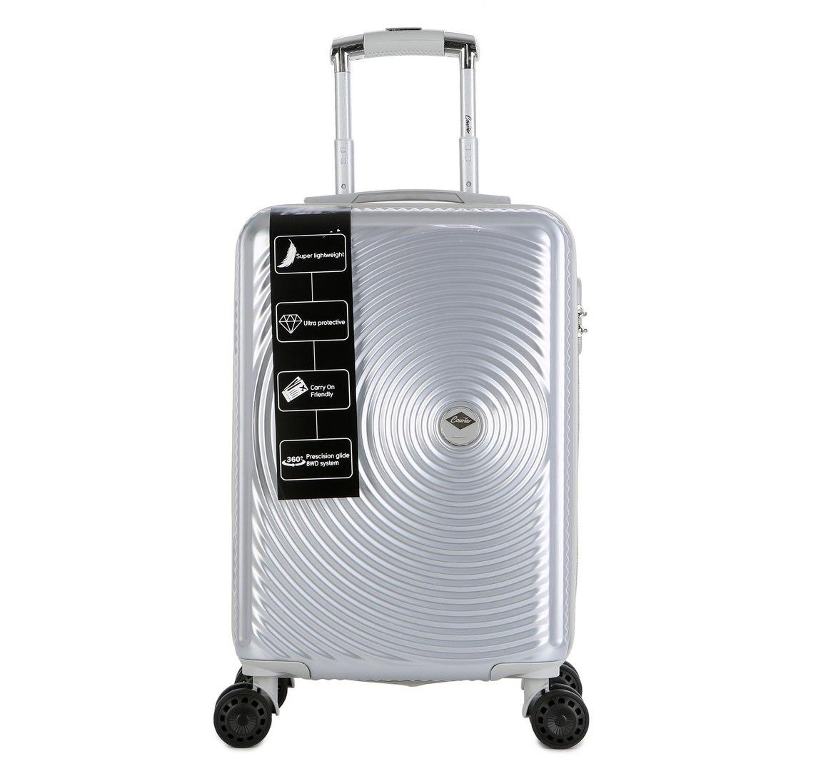 """מזוודה יוקרתית גדולה 28"""" של המותג האוסטרלי Courier - צבע כסוף"""
