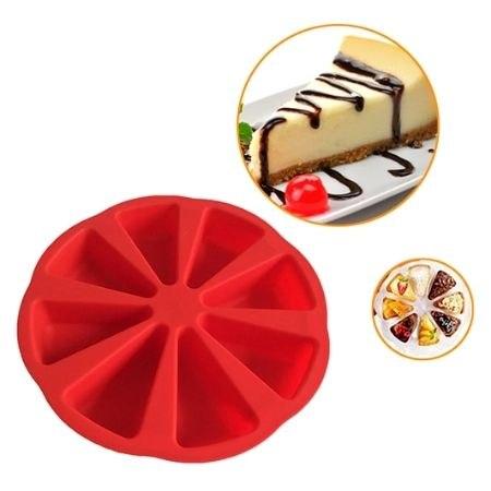 תבנית סיליקון ליצירת משולשי עוגה מושלמים