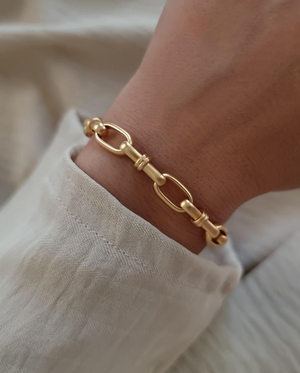 צמיד זהב ג'ני