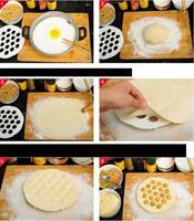 תבנית להכנת כיסוני בצק בקלות ובמהירות