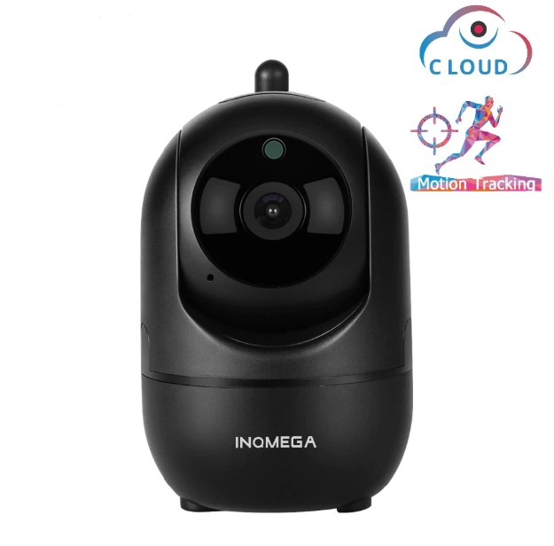 מצלמת אבטחה HD עם חיישן תנועה - כוללת אפליקציה לטלפון הנייד