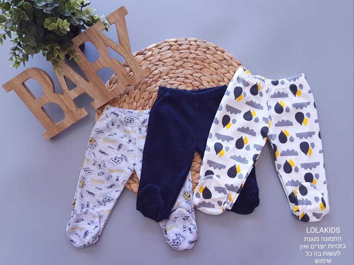 מארז 3 מכנסי רגליות דגם 8010