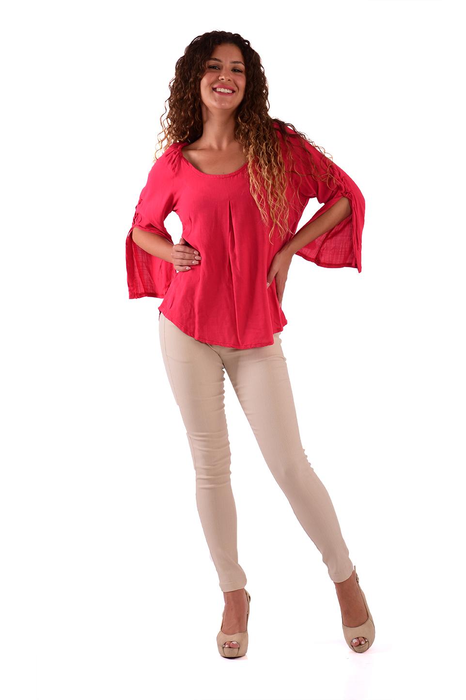 חולצה מלי אדום