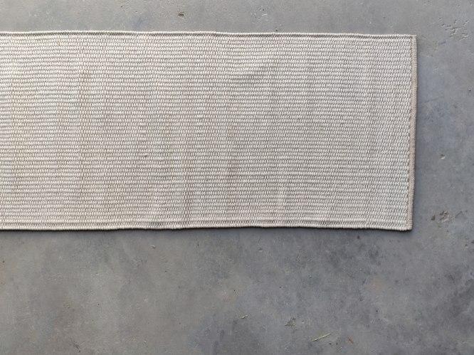 שטיח כותנה  ארוך מאד - חול טבעי