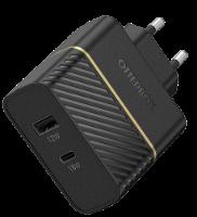 מטען קיר שתי יציאות דגם Otter BOX PD18W USB 12W